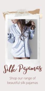 Beautiful silk pajamas